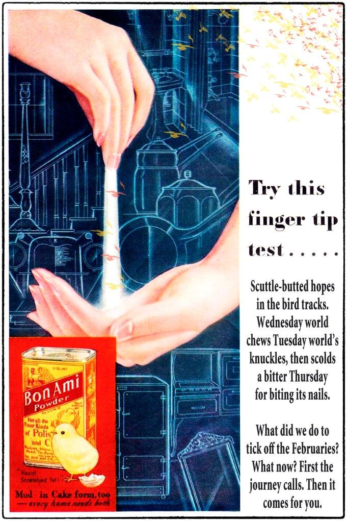 bon ami finger test